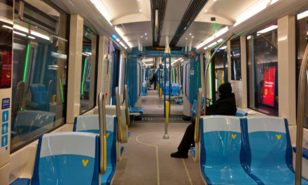 The STM temporarily withdraws all AZUR trains from the Montreal subway system